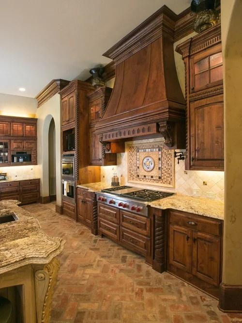 Brick Kitchen Floor Home Design Ideas Pictures Remodel