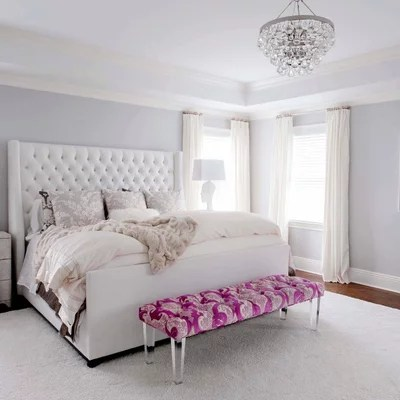 Transitional Bedroom by Debra Somerville Photography