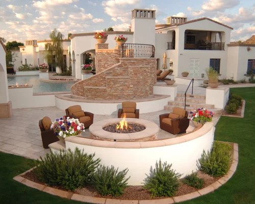 Stucco Bench Home Design Ideas, Pictures, Remodel and Decor on Modern Boma Ideas id=53064