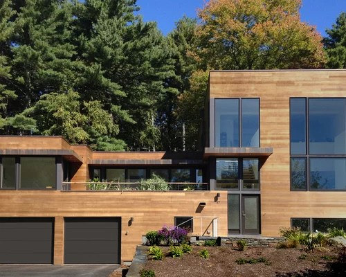 Houzz   Modern Wood Siding Design Ideas & Remodel Pictures on Contemporary Siding Ideas  id=65234