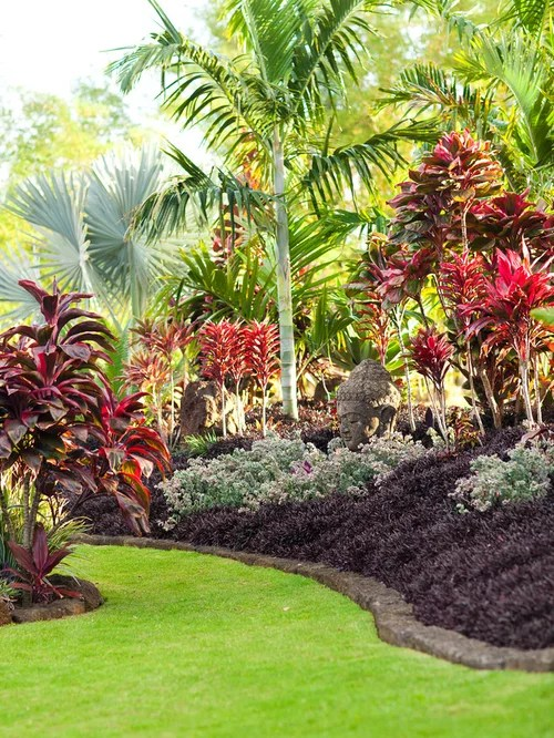 Best Tropical Landscape Design Ideas & Remodel Pictures ... on Tropical Backyard Landscaping Ideas  id=13874