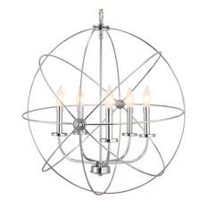 Revel Orbits Ii Large 24 5 Light Modern Sphere Orb Chandelier