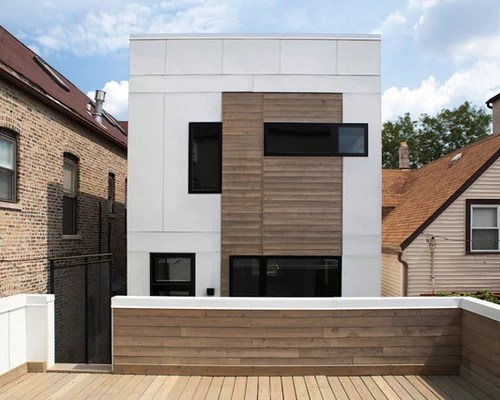 Modern Wood Siding Home Design Ideas, Pictures, Remodel ... on Contemporary Siding Ideas  id=85548