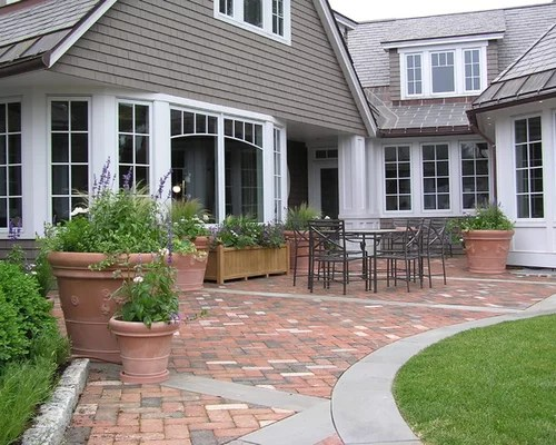 Best Cheap Patio Pavers Design Ideas & Remodel Pictures ... on Red Paver Patio Ideas id=30597