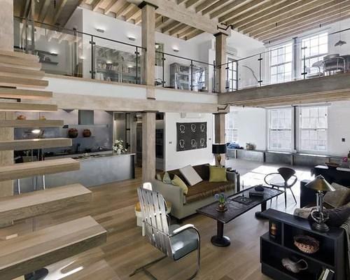 Loft Open Floor Plan Home Design Ideas Pictures Remodel