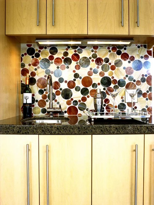 Natural Maple Cabinets | Houzz on Kitchen Backsplash With Natural Maple Cabinets  id=85076