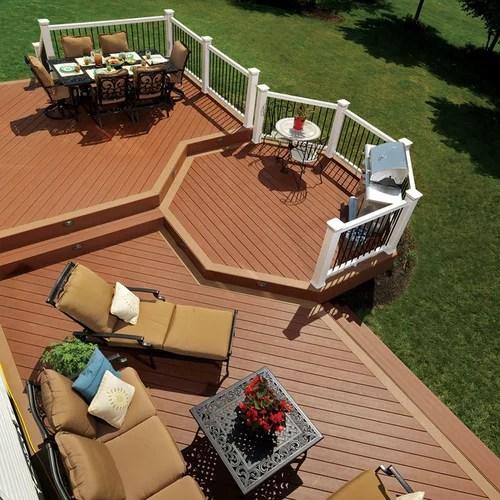 Octagonal Deck Houzz