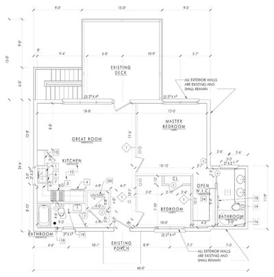 Floor Plan Small House Offers a Fixer Upper Guide for Flipping