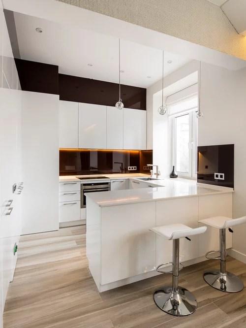 Best Small Modern Kitchen Design Ideas & Remodel Pictures ... on Modern Kitchen Ideas  id=89856