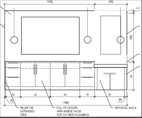 What is the proper placement for bathroom pendant sconces? on Height Of Bathroom Sconce Lights id=23094