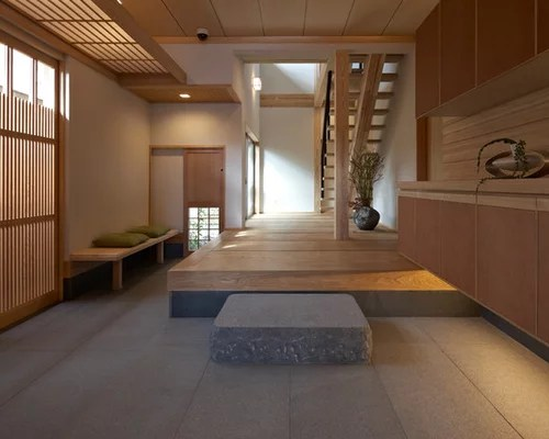 Houzz Asian Entryway Design Ideas Amp Remodel Pictures