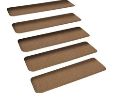 50 Most Popular Stair Tread Rugs For 2020 Houzz | 8 Inch Carpet Stair Treads | Wooden Stairs | Bullnose Carpet | Skid Resistant | Non Skid | Non Slip Stair