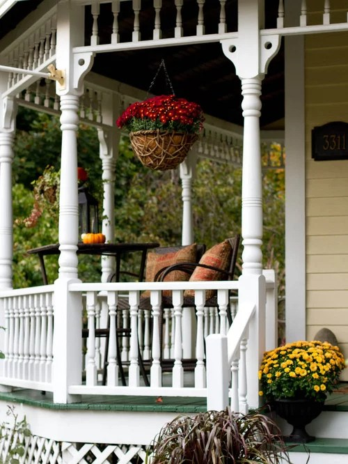Turned Wood Porch Columns