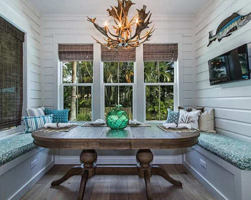 Beach Style Dining Room Design Ideas, Remodels & Photos