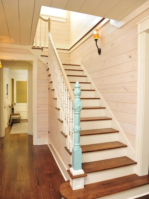 Painted Tongue And Groove Houzz