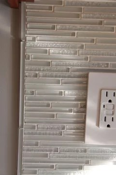 installing glass subway tile what to