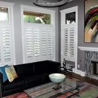 Brooklyn Apartment Modern Living Room New York By