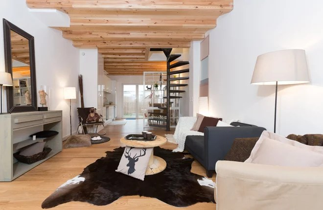 Contemporary Family Room by Home-Staging Experts