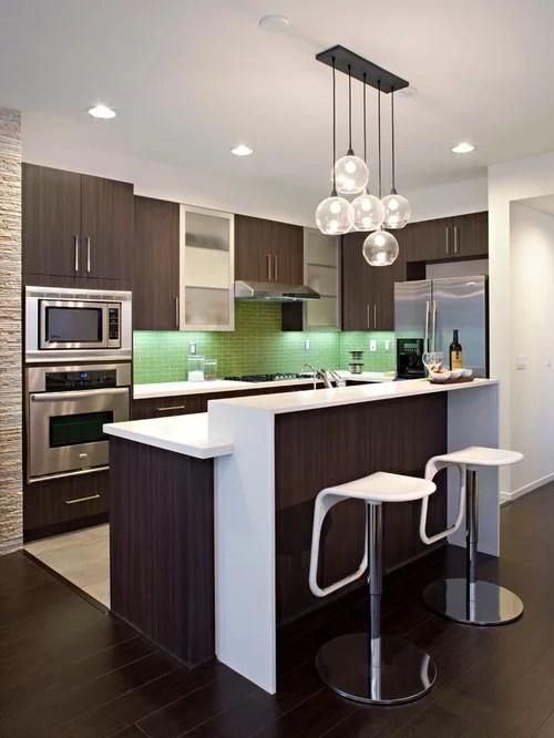 Bar Counter Design | Houzz on Kitchen Counter Decor Modern  id=42320