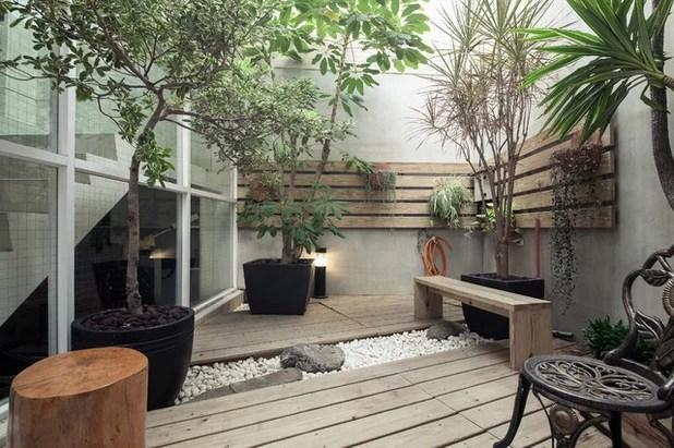 Asiático Terraza y balcón by Oliver Interior Design