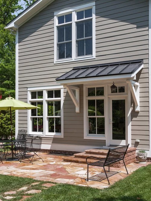 Back Door Awning Home Design Ideas, Pictures, Remodel and ... on Backdoor Patio Ideas id=68993