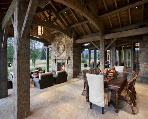 Best Outdoor Living Spaces Design Ideas & Remodel Pictures ... on Houzz Outdoor Living Spaces id=98786