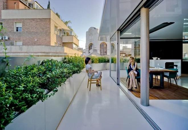 Contemporáneo Terraza y balcón by Clavel Arquitectos