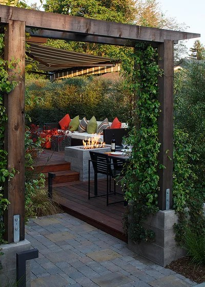 Contemporary Deck by Amy A. Alper, Architect