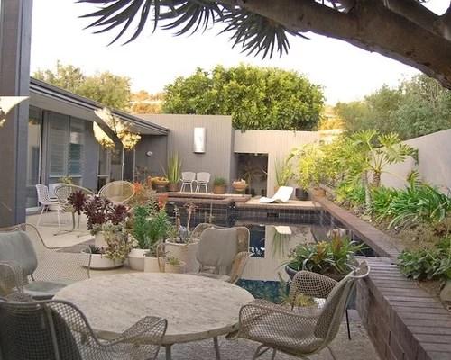 Mid Century Modern Patio Home Design Ideas, Pictures ... on Mid Century Modern Patio Ideas id=80445