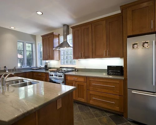 Granite Countertops Maple Cabinets | Houzz on Maple Cabinets With Granite Countertops  id=35177