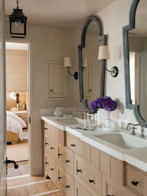Mediterranean Bathroom Design Ideas, Renovations & Photos ... on Bathroom Ideas With Maple Cabinets  id=46566
