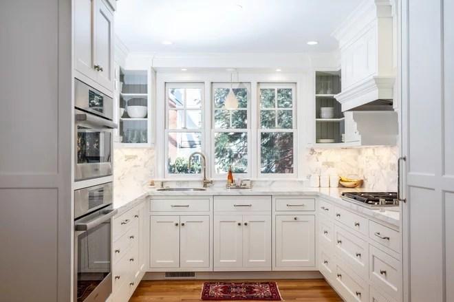 Transitional Kitchen by David Gamari Photography