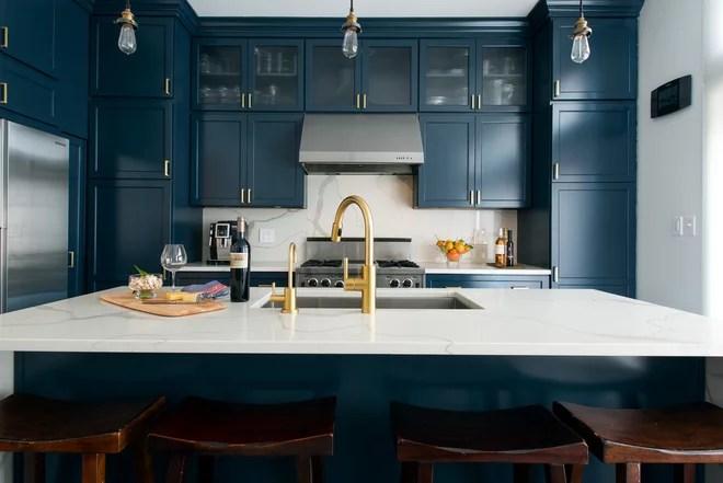 Transitional Kitchen by Skin Interior Design