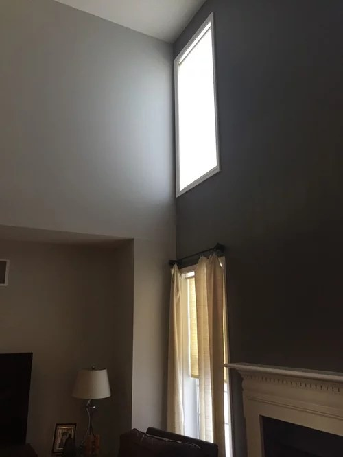 recessed lights on 20ft ceiling