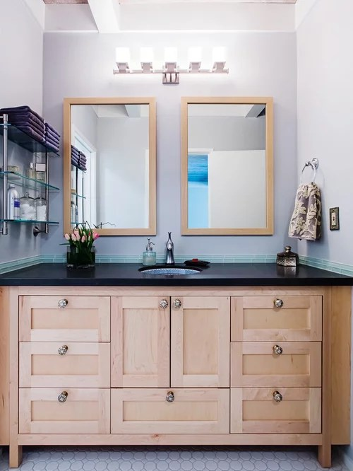 Best Maple Vanity Design Ideas & Remodel Pictures | Houzz on Bathroom Ideas With Maple Cabinets  id=92067