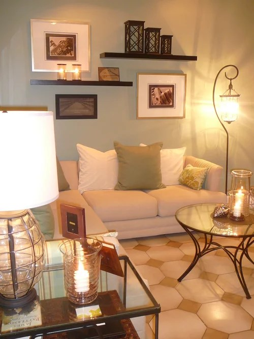 Wall Decorating With Pictures | Houzz on Decorative Wall Sconces For Living Room Ideas id=23384
