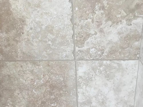 travertine grouting bad work or just ugly