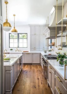 Houzz Tour  Modern California Style Meets Cape Cod Design Transitional Kitchen by Boswell Construction
