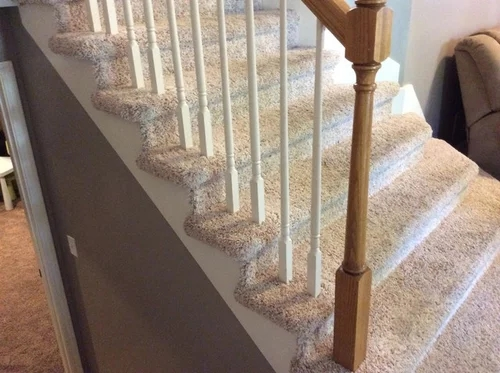 Replacing Balusters Without Removing Carpet   Replacing Wood Balusters With Iron   Staircase   Stair Spindles   Stair Parts   Handrail   Stair Railing
