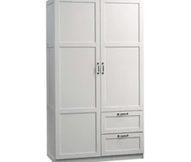 Pemberly Row Pemberly Row Wardrobe Armoire White Armoires And Wardrobes