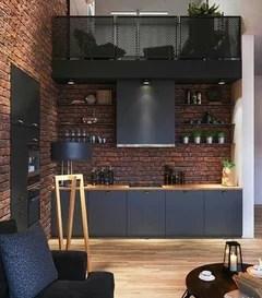 cuisine noire et bois ouverte quelles