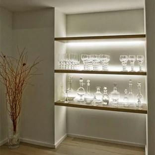 led shelf lighting houzz