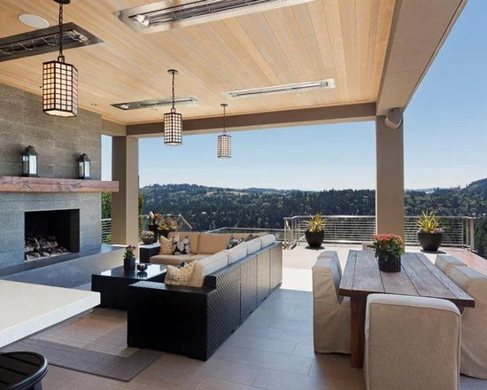 Pacific Northwest Outdoor Living Space | Houzz on Houzz Outdoor Living Spaces id=48771