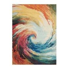 Nourison Sale Celestial CES07 Wave 7'10x10'6