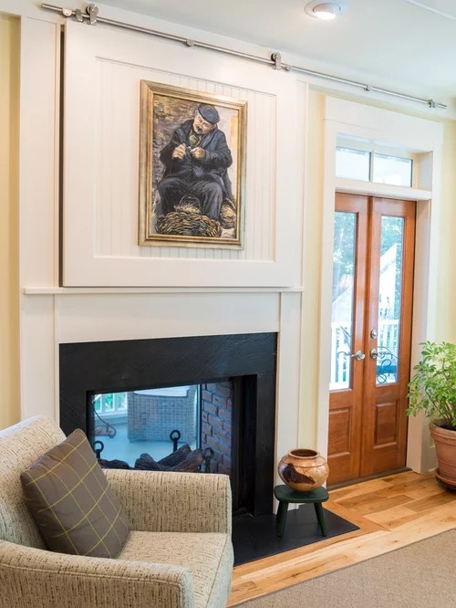 How To Hide Tv Wires Above Fireplace Install A