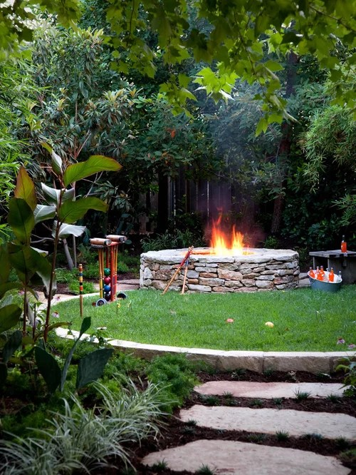 Round Fire Pit Ideas Pictures Remodel And Decor