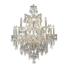 The Gallery Maria Theresa Swarovski Crystal Chandelier Chandeliers