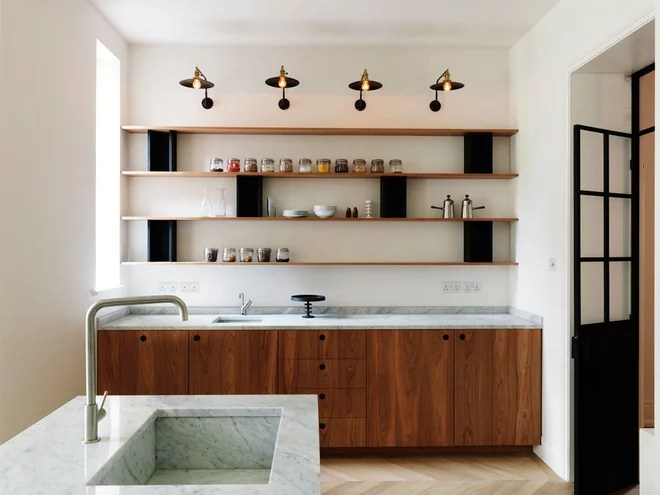 Contemporary Kitchen by Diespeker Terrazzo & Marble