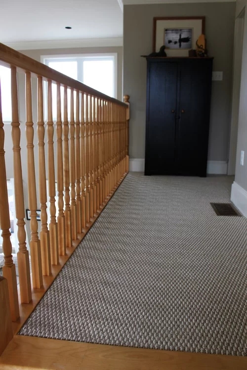 Advice Needed On Wood Or Carpet For Staircase Landing | Cost To Re Carpet Stairs And Landing | Berber Carpet | Stair Runner | Stair Nosing | Laminate Flooring | Des Kelly