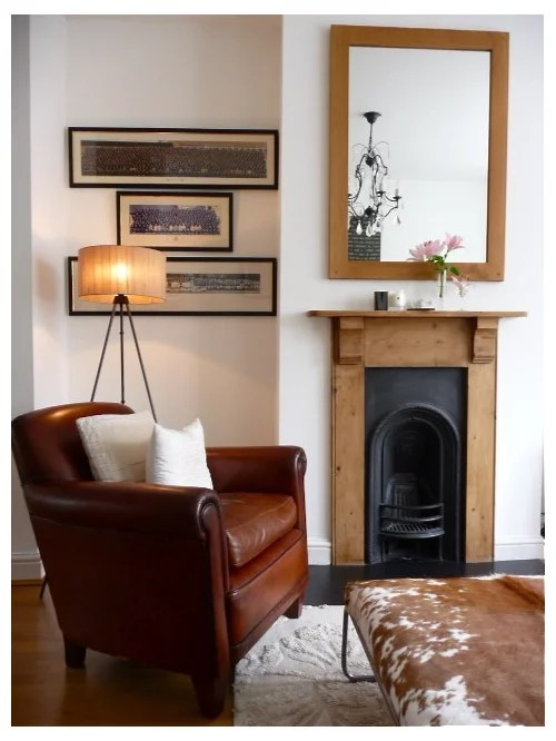 Small Fireplace | Houzz on Small Space Small Living Room With Fireplace  id=80626